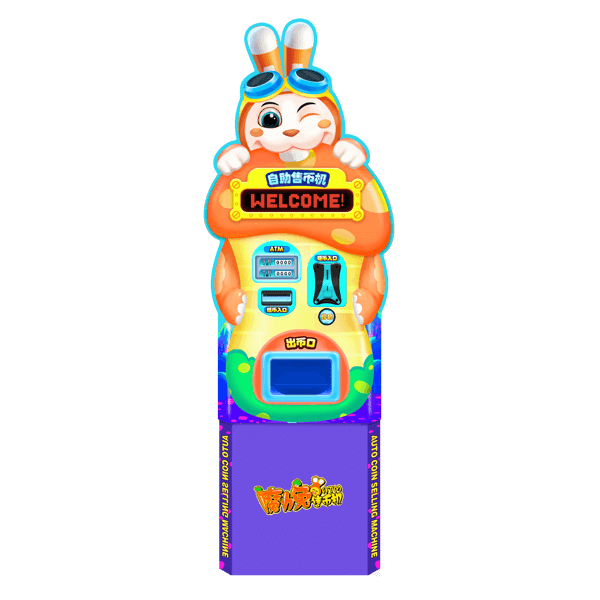 Magic Rabbit Coin Vending Machine