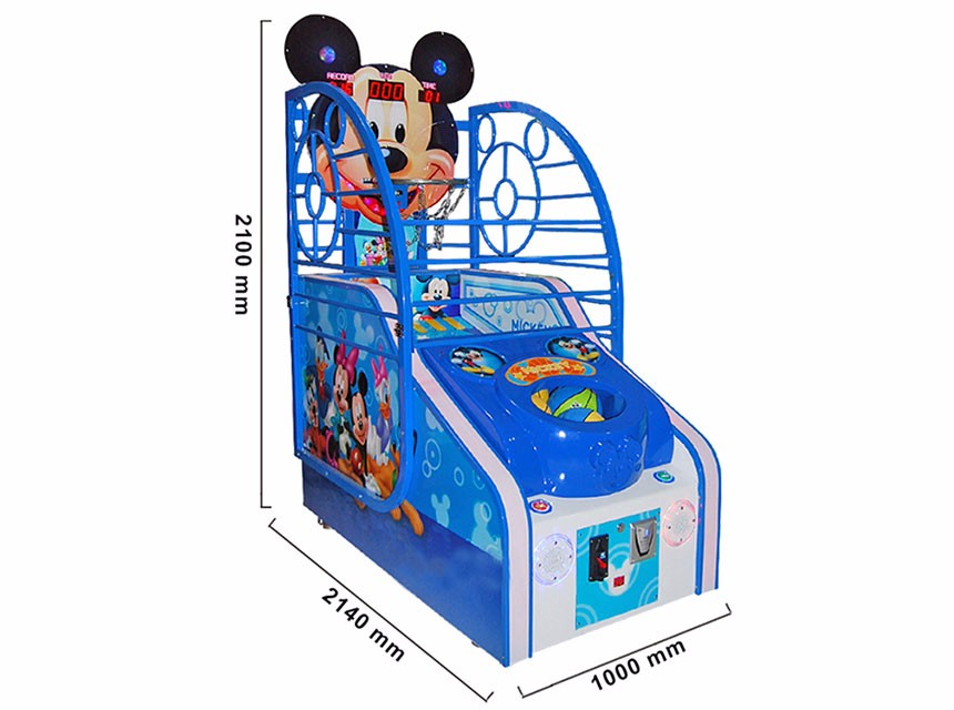 Mickey Basketball