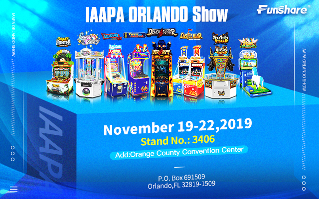 Welcome to Our Iaapa Orlando Show