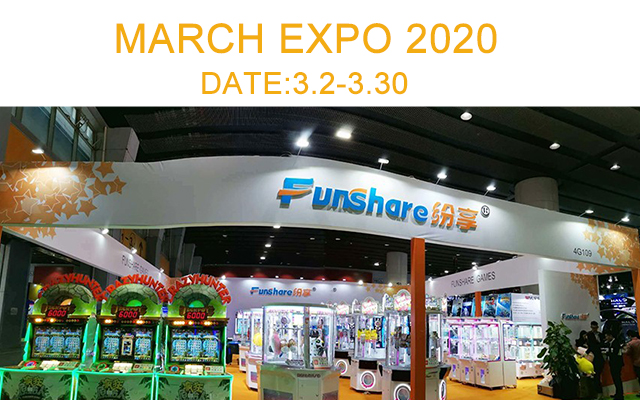 FUNSHARE MARCH EXPO 2020